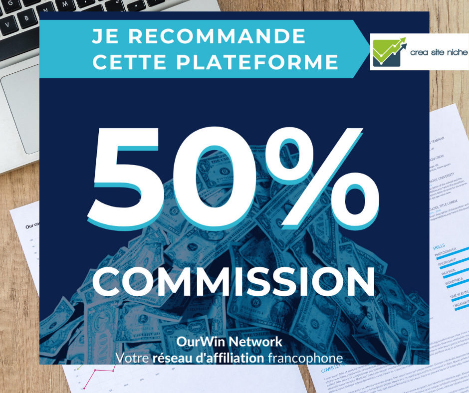 recommandation - plateforme ourwin - affiliation