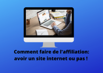 site internet ou pas affiliation