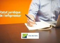 Quel statut juridique pour l'infopreneur ?